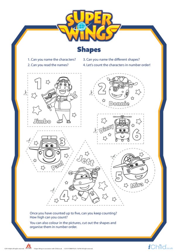 Super Wings: Shapes