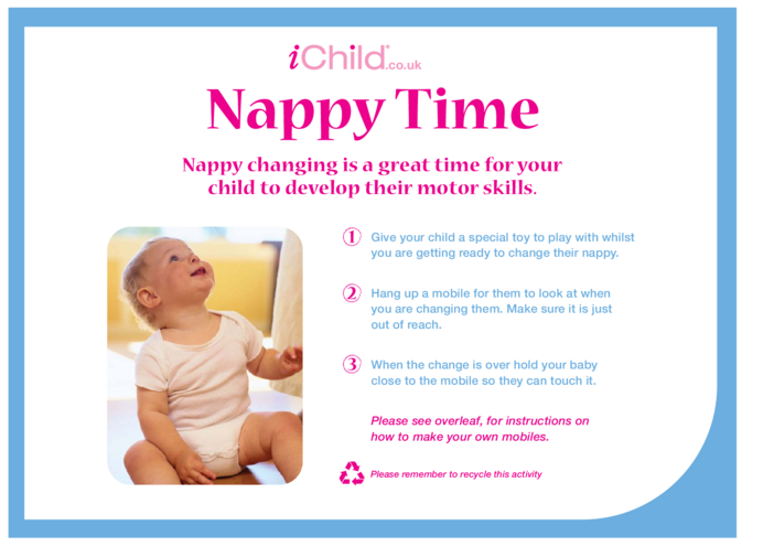 Thumbnail image for the Nappy Time activity.