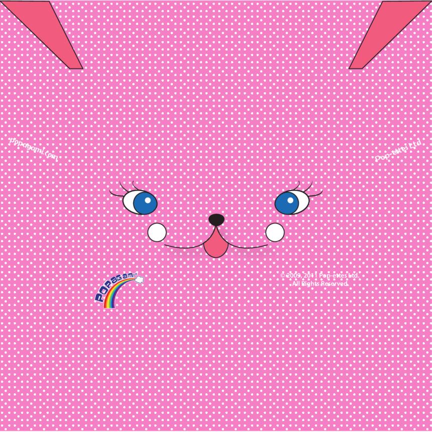 Origami/Popagami Pink Character