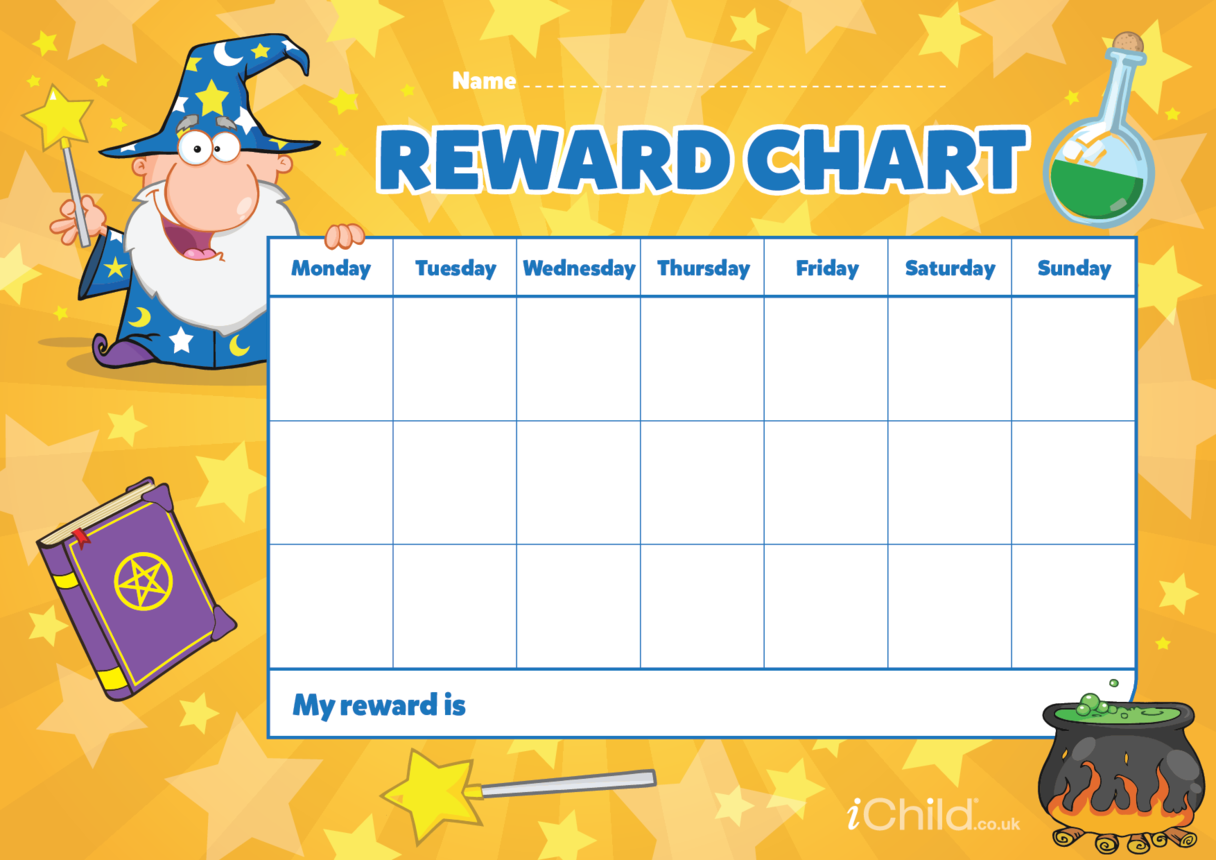 Magic (Wizards) Reward Chart