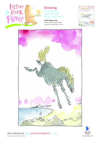 Thumbnail image for the Rosie's Magic Horse activity.