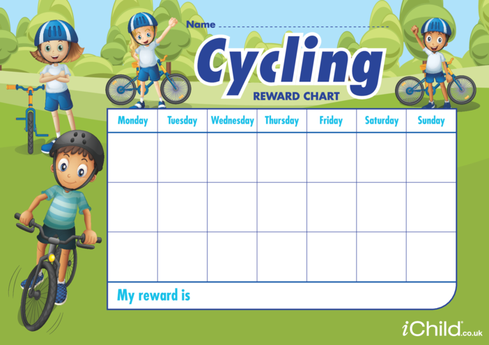 Thumbnail image for the Cycling Reward Chart activity.
