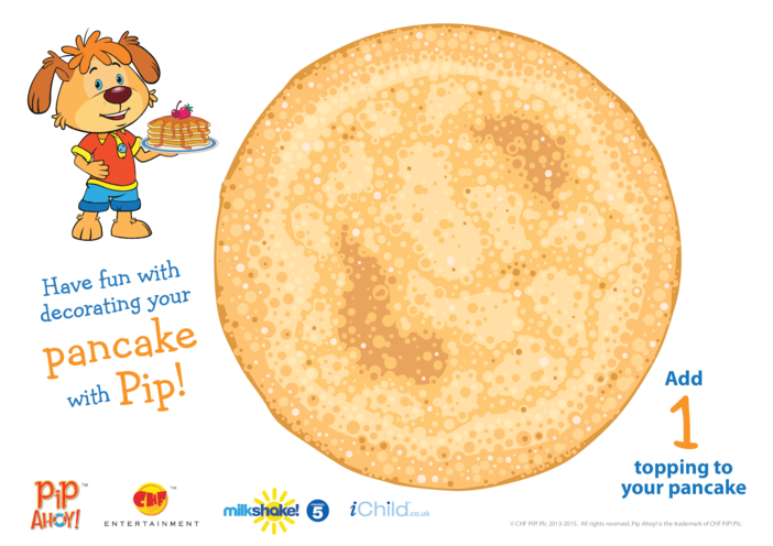 Thumbnail image for the Play Dough Counting Mat: Pancake (Pip Ahoy!) activity.