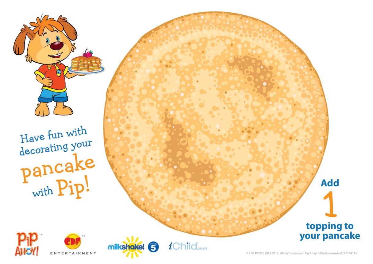 Play Dough Counting Mat: Pancake (Pip Ahoy!)