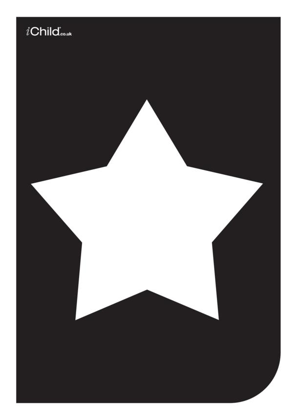 Black & White Poster: Star