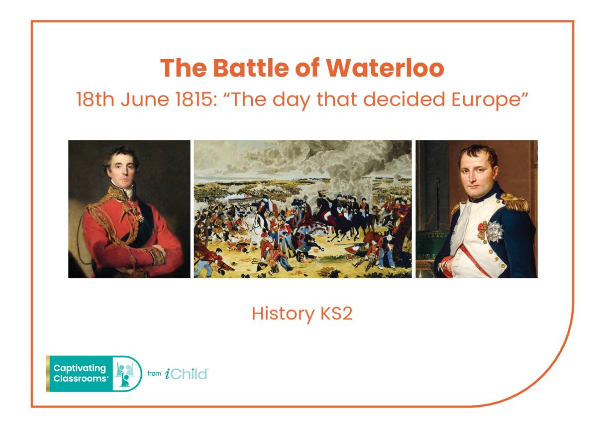 Battle of Waterloo Historical Story