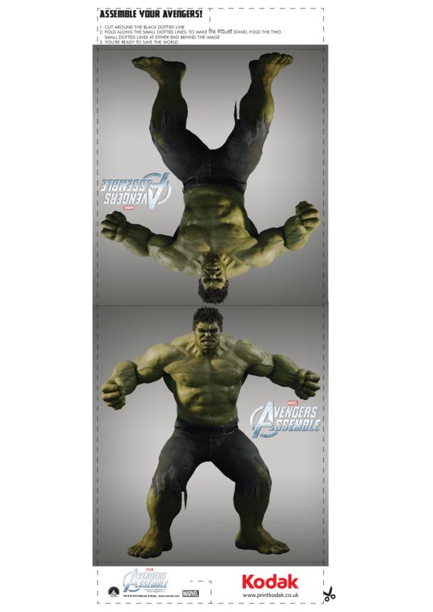 Fold Figures: The Hulk