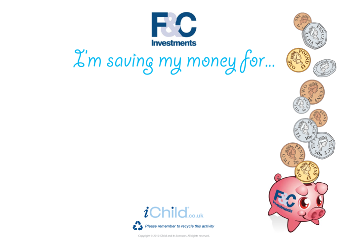 Thumbnail image for the Goal Setting- Money activity.