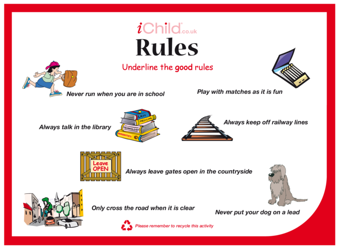 Thumbnail image for the Rules activity.