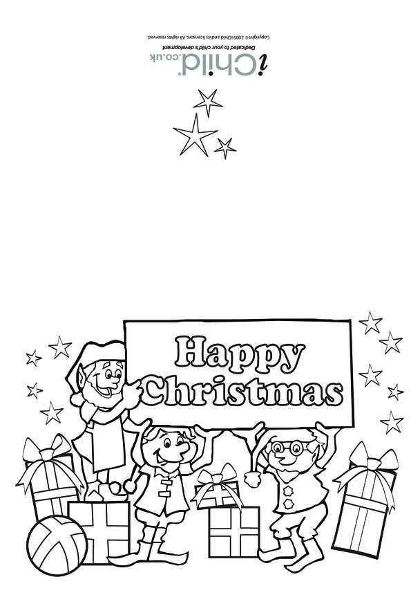 Christmas Card- Elves