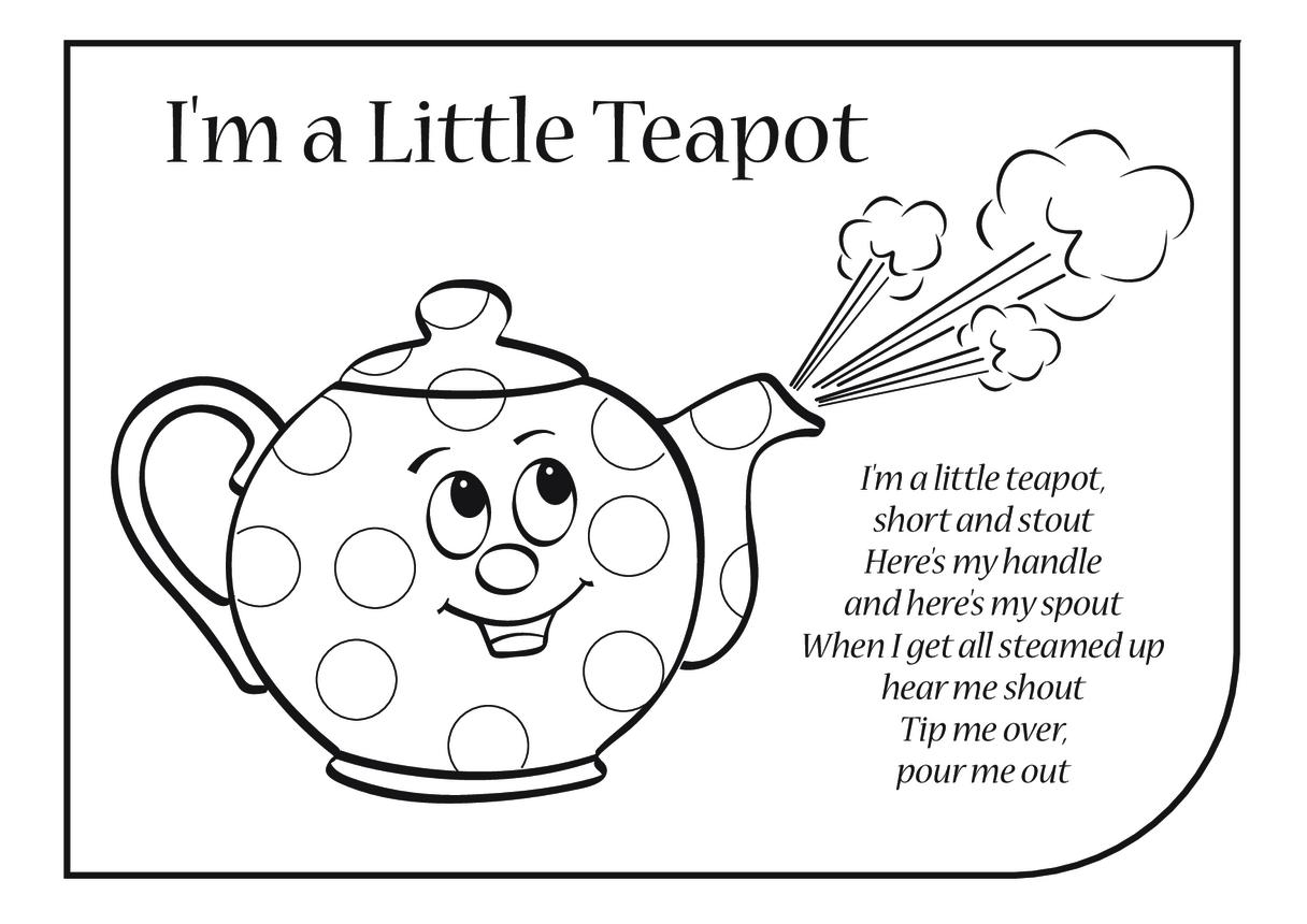 I'm a Little Teapot Lyrics