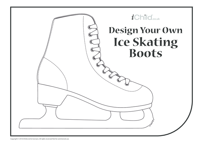 Thumbnail image for the Design Your Own Ice Skating Boots activity.