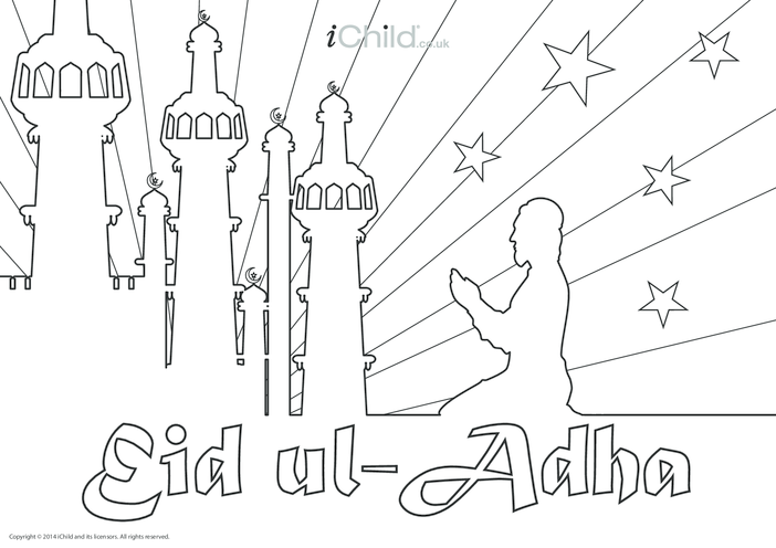 Thumbnail image for the Eid al-Adha Poster activity.