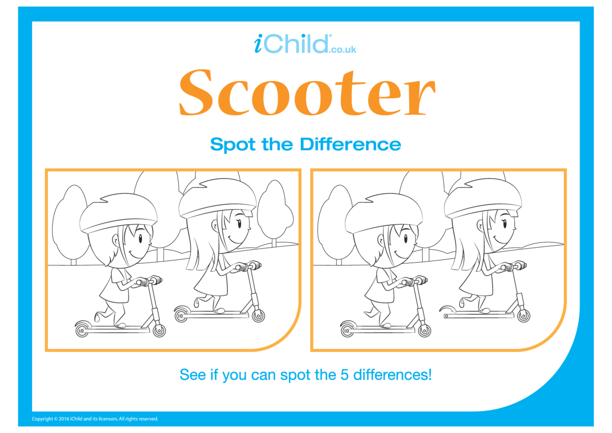 Scooter Spot the Difference