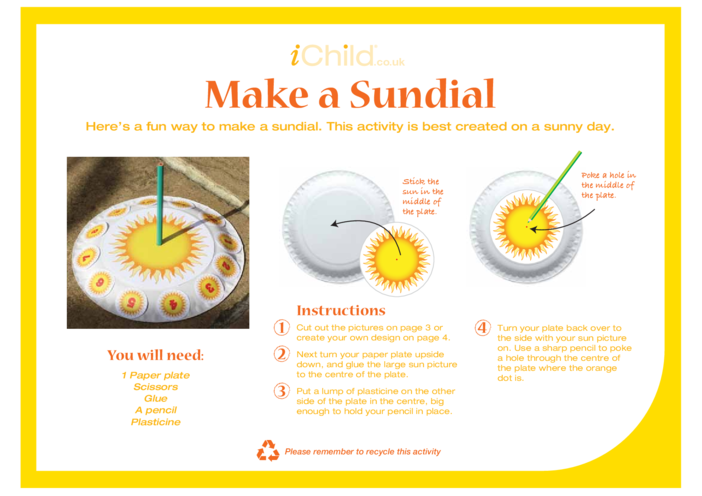 Thumbnail image for the Make a Sundial activity.