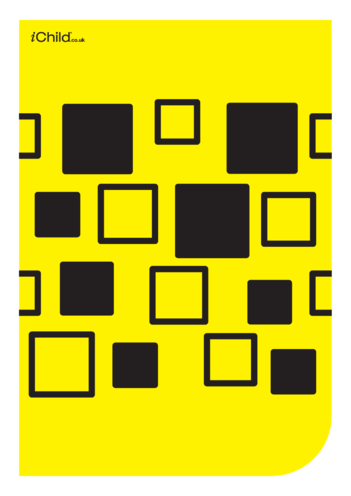 Thumbnail image for the Contrasting Colours Poster: Square Pattern activity.