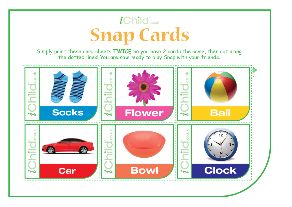 Snap Game Cards