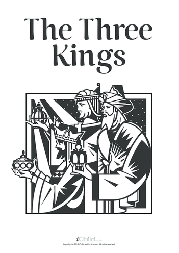 Thumbnail image for the The Three Kings Poster activity.