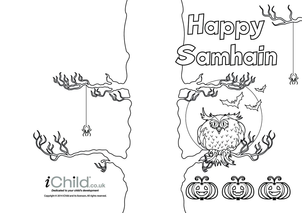 Happy Samhain Card