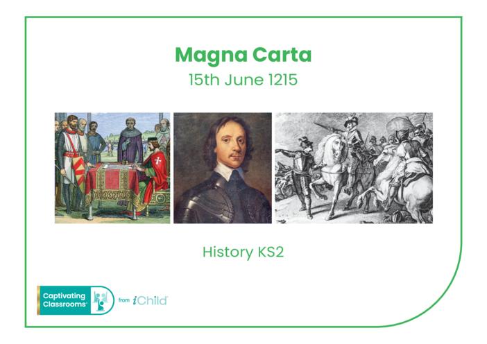 Thumbnail image for the Magna Carta Historical Story activity.