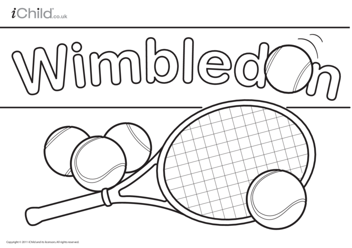 Thumbnail image for the Wimbledon Poster activity.