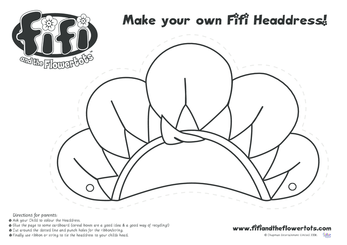 Thumbnail image for the Fifi Head Dress activity.