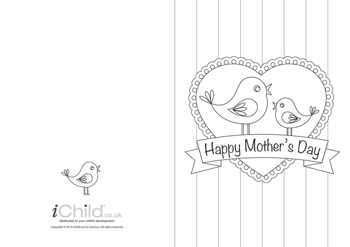 Thumbnail image for the Happy Mother's Day Card activity.