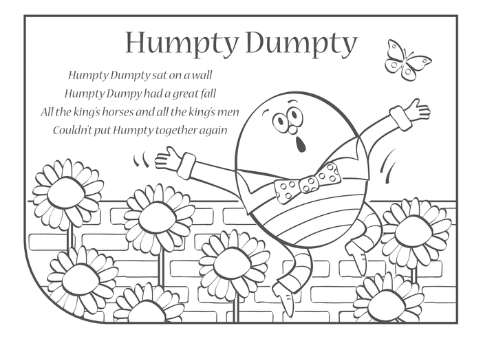 Thumbnail image for the Humpty Dumpty Lyrics activity.