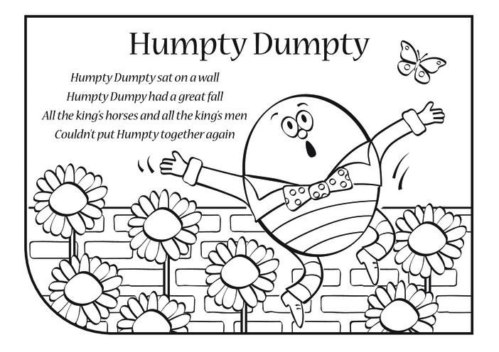 Thumbnail image for the Humpty Dumpty Lyrics activity.