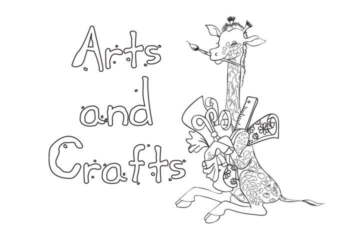 Thumbnail image for the Arts & Crafts (black & white) - Signs & Posters activity.