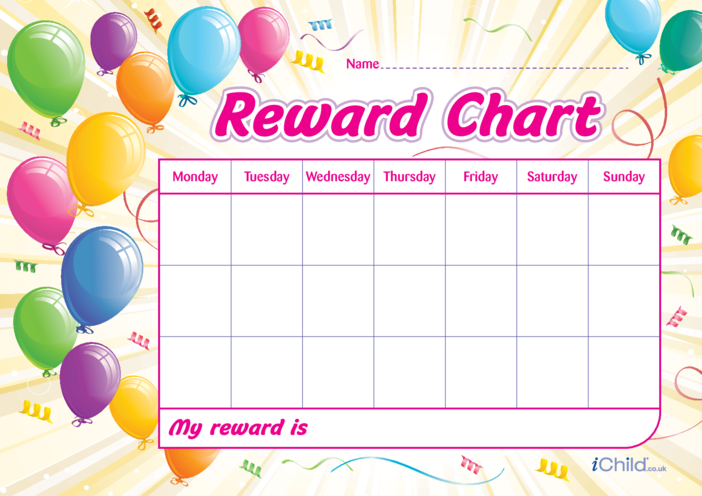 Thumbnail image for the Birthday Reward Chart activity.