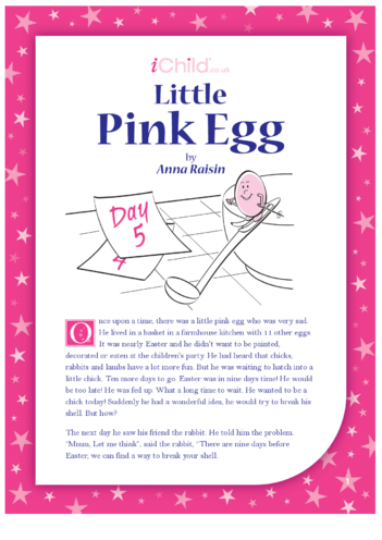 Thumbnail image for the Little Pink Egg activity.