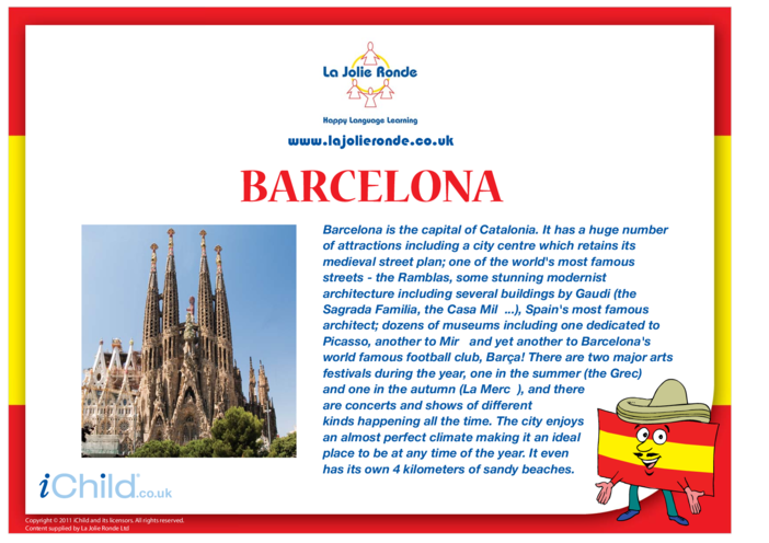 Thumbnail image for the Barcelona activity.