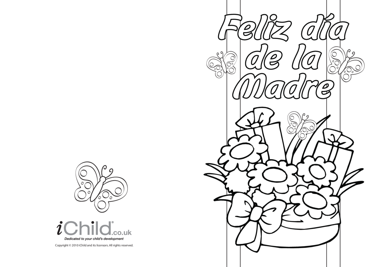 Mother's Day Card in Spanish