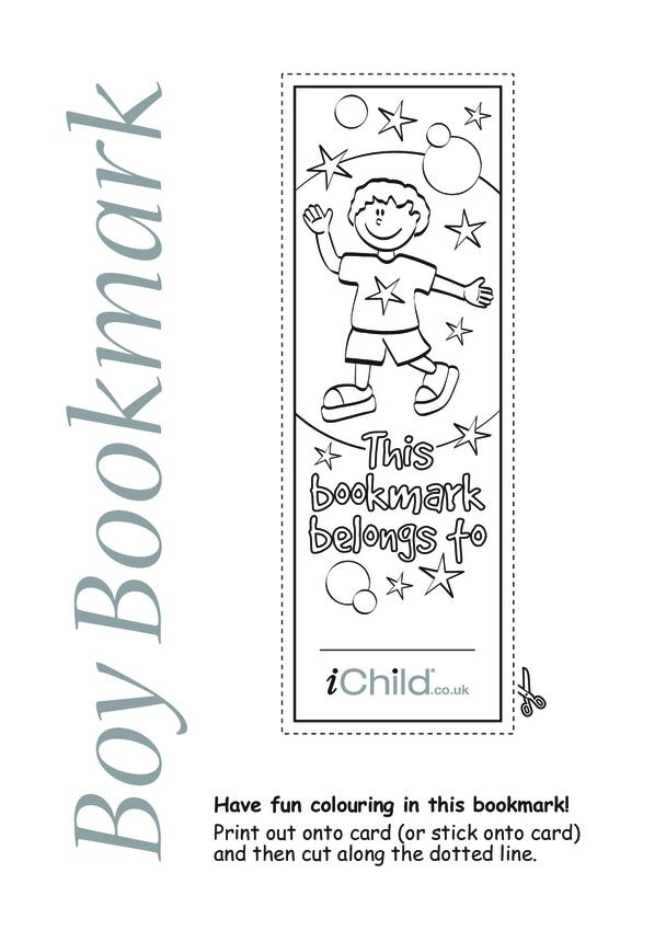 Boy Bookmark