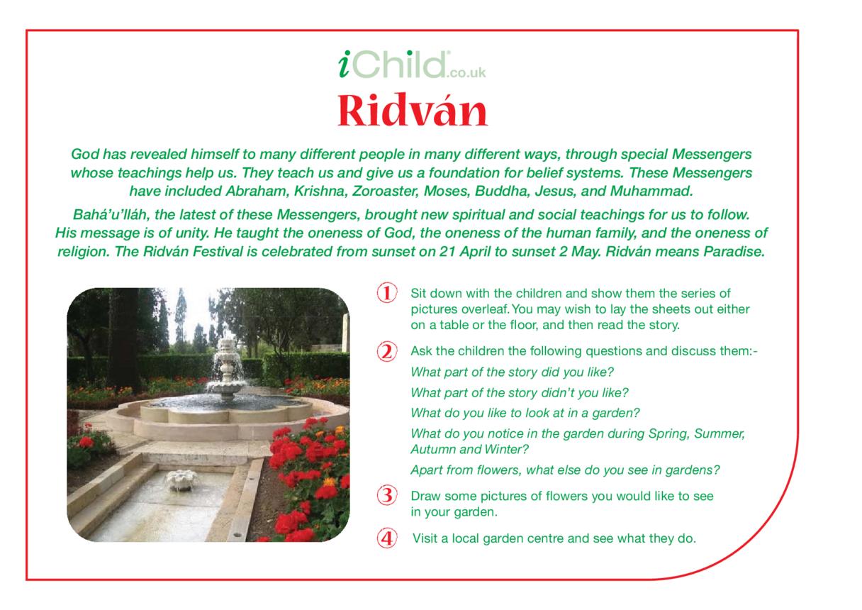 Ridván Religious Festival Story