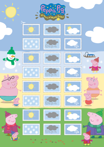 Thumbnail image for the Peppa Pig: Weather Symbols 2 (EYFS/KS1) activity.