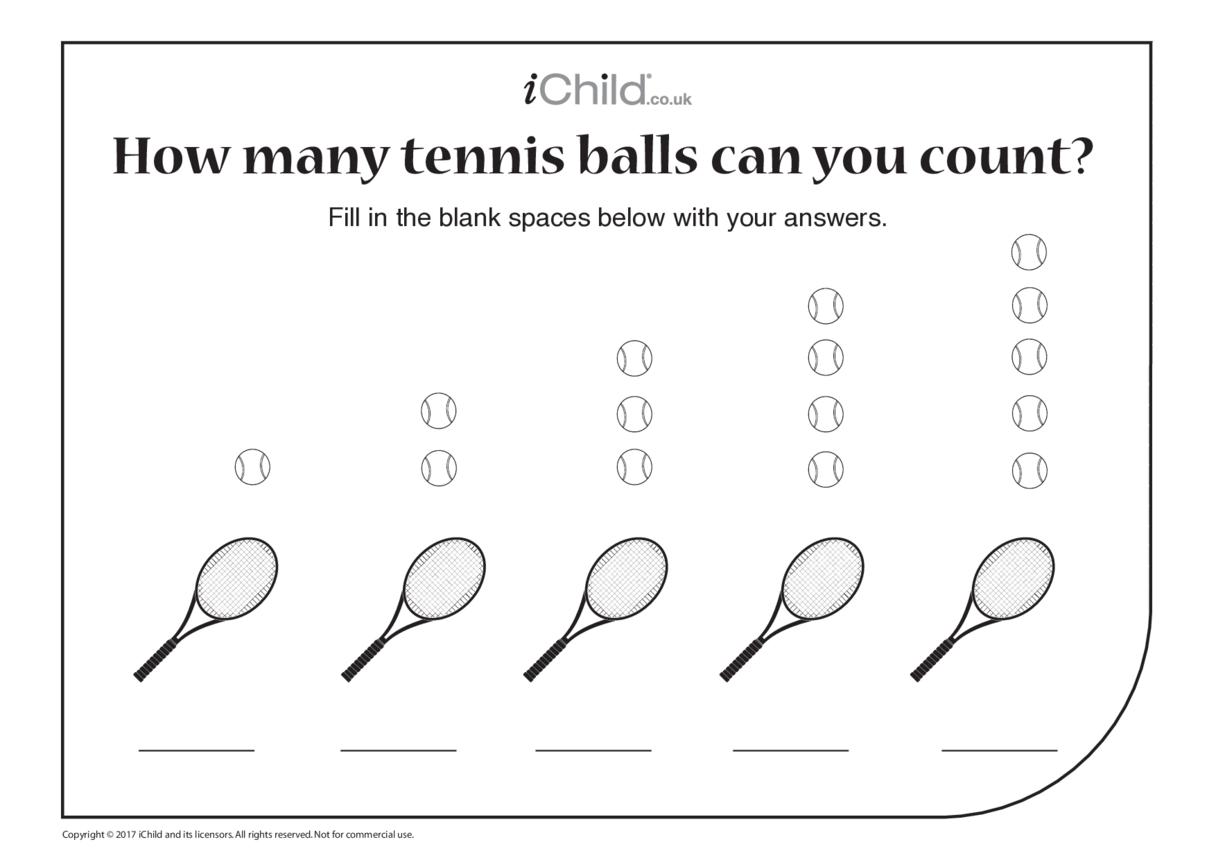 Counting Tennis Balls