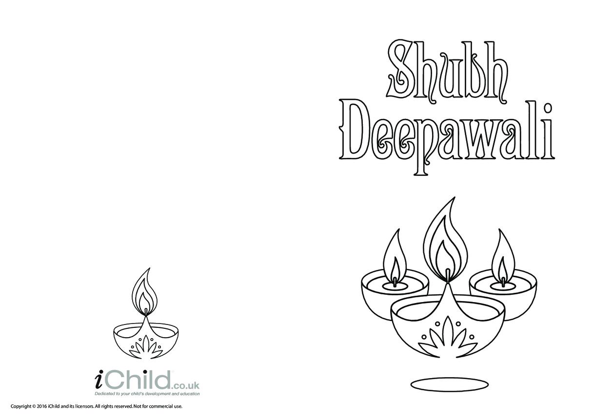 Shubh Deepawali Card
