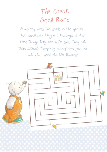 Thumbnail image for the Humphrey's Puzzle activity.