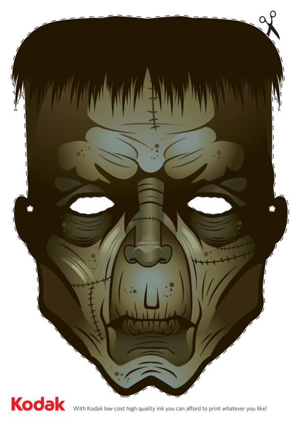 Kodak Frankenstein Face Mask