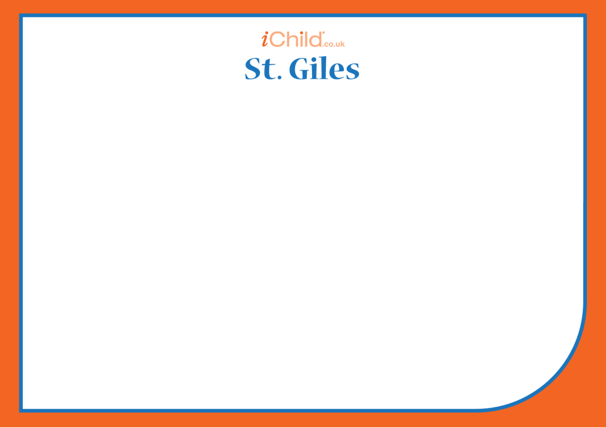 St. Giles Blank Drawing Template