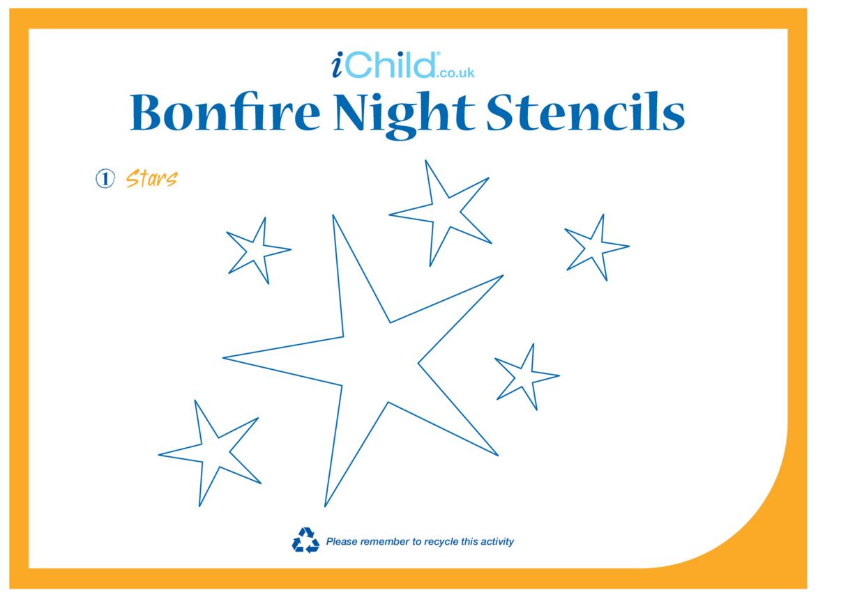 Bonfire Night Stencils