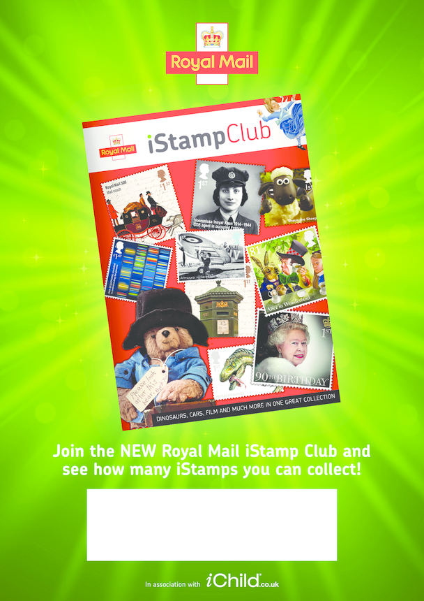 Royal Mail iStamp UK Poster A3