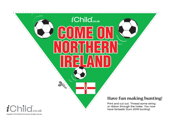 Thumbnail image for the Football Bunting Northern Ireland activity.