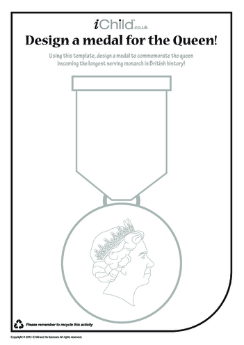 Thumbnail image for the Design a Royal Medal activity.