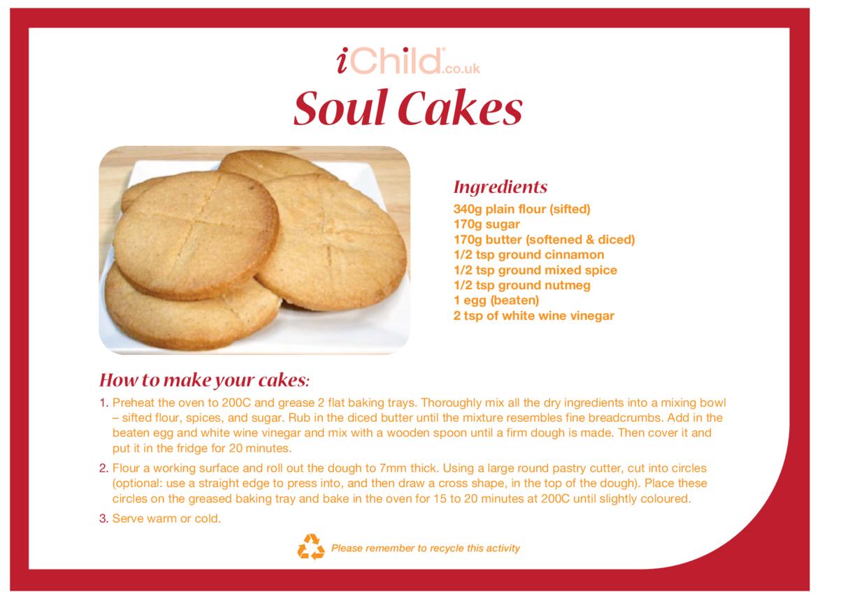 Soul Cake Recipe