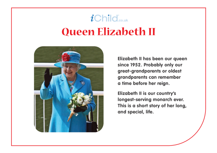 Thumbnail image for the Elizabeth II - Story activity.