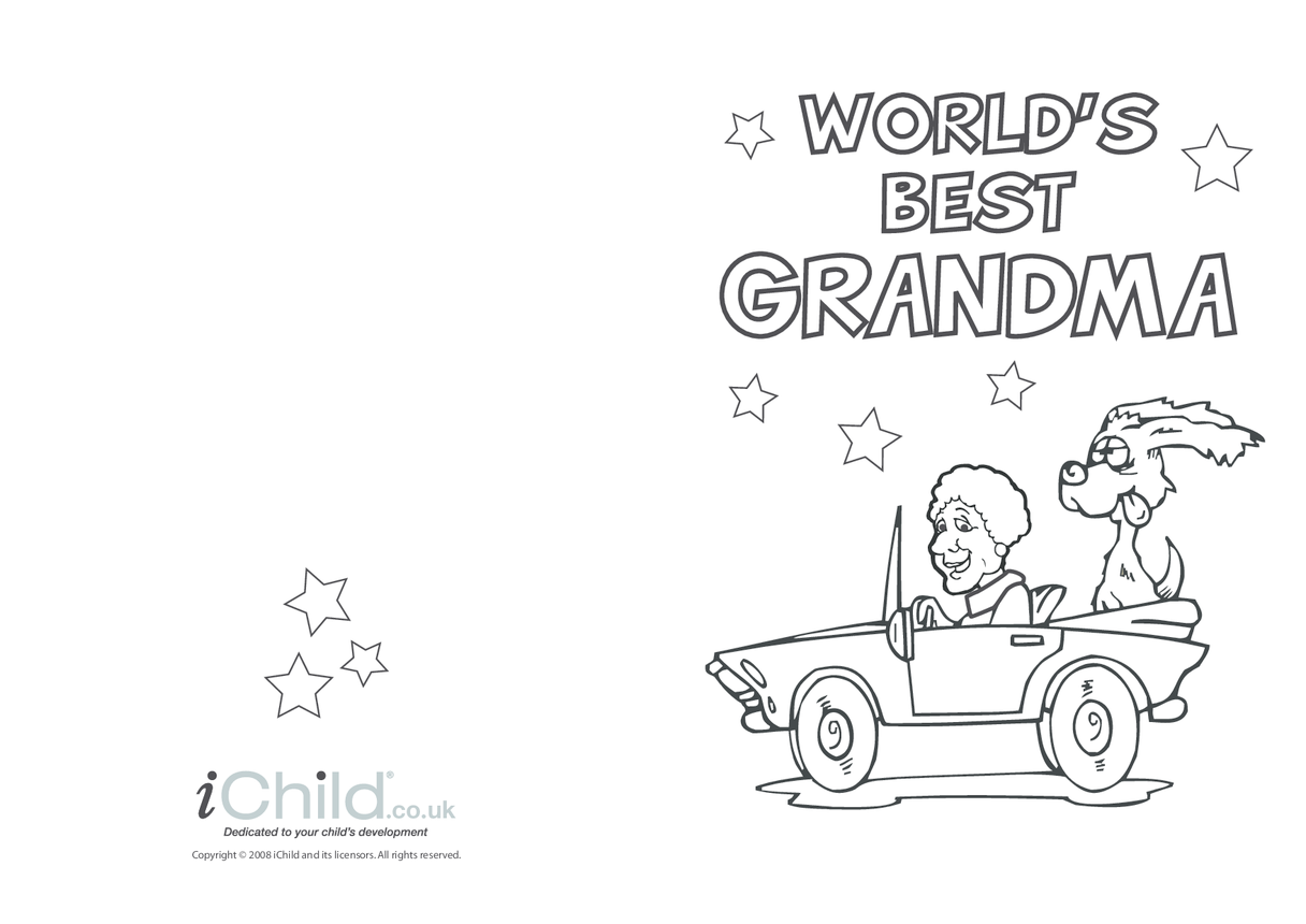 Best Grandma Card