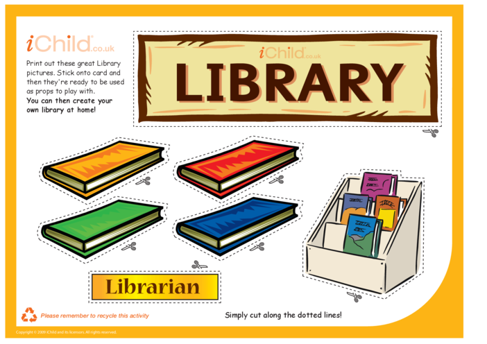 Thumbnail image for the Library Role Play activity.